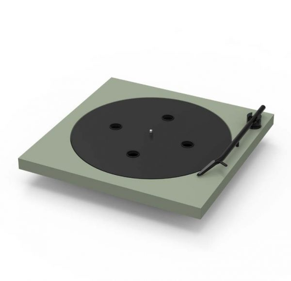 turntable design record player green
