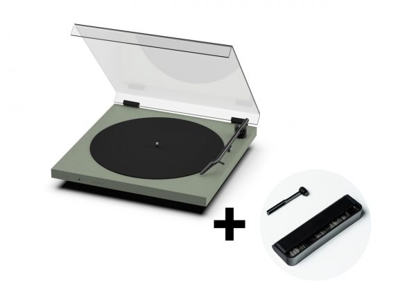 TONE Turntable with Dustcover + free Care Pack
